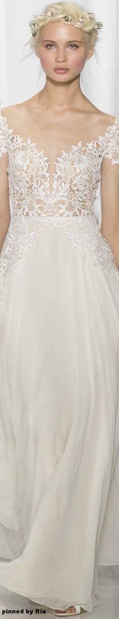 Reem Acra Bridal Fall 2017 l Ria