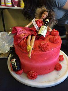 Drunken Bachelorette cake.