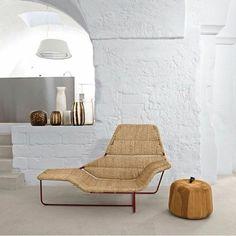 korbsofa flechtmöbel lounge möbel aus rattan