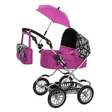 Reversible Double Stroller for Dolls. For Dolls up to 16 inches ...