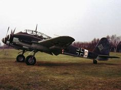 """The Messerschmitt Me 410 Hornisse (""""Hornet"""") was a German heavy fighter and Schnellbomber used by the Luftwaffe during World War II. Though essentially a straightforward modification of the Me 210, it was designated the Me 410 to avoid association with its notoriously flawed predecessor."""
