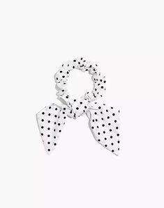 Bow Scrunchie S Man, Top Knot, Scrunchies, Women's Accessories, Madewell, Dots, Cool Stuff, Prints, Cotton