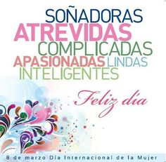 (240) Tweets sobre la etiqueta #FelizDiaDeLaMujer en Twitter Happy Woman Day, Happy Women, Happy Day, Birthday Cards, Happy Birthday, Mothers Day Quotes, Good Morning Good Night, Ladies Day, Quote Of The Day
