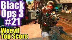 BLACK OPS 3 Multiplayer Gameplay #21 WEEVIL TOP SCORE