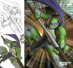 TMNT Donatello (2014) by RecklessHero.deviantart.com on @deviantART