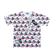 東京ディズニーリゾート Tシャツ ミニー フェイス S〜LL TDR