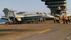 Fueling Area on the USS Carl Vinson CVN-70