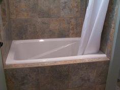 Bathroom Designs, The Unforeseen White Curtain For A Right Deep Soaking Tub  Deep Soaking Tub For Small Bathroom: Tubs For Small Bathrooms Wi.