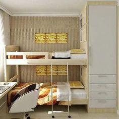 New Small Wardrobe Storage Ideas Space Saving 54 Ideas Home, Wardrobe Storage, Small Apartments, Small Wardrobe Storage Ideas, Bedroom Design, Bed, Small Bedroom, Bunk Beds, Interior Design