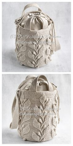 Fab Climbing Vine Stitch Crochet Patterns Climbing Vine Bag Crochet Patterns Record of Knitting Wool spinning, weaving and sewing jobs Stitch Crochet, Crochet Purse Patterns, Crochet Pouch, Handbag Patterns, Crochet Stitches, Crochet Bags, Doilies Crochet, Knitting Patterns, Crochet Handbags