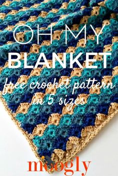 Free Crochet Oh My Blanket Pattern