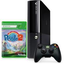 Console Xbox 360 4GB + Jogo Peggle 2 (download)