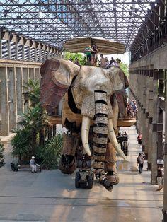 Grand Éléphant [Nantes, Pays de la Loire, FRANCE
