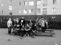 Menossa nuorison kanssa alueneuvonpitoon 31.8.2015 http://jaanahuhtakirjoitti.blogspot.fi/2015/09/fb-kirjoittelun-kirvoittama-neuvonpito.html