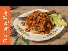 Healthy Baked Beans | 5 Minute Breakfast - YouTube