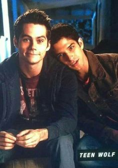 Tyler Posey and Dylan O'Brien @starrybeauty