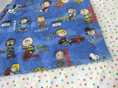 Charlie Brown and the Peanuts Gang Blanket  Baby / by MnStyle, $25.00