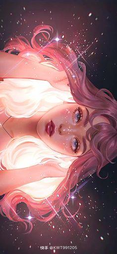 Anime Girl Drawings, Anime Art Girl, Cute Drawings, Pretty Art, Cute Art, Wonder Art, Anime Scenery Wallpaper, Digital Art Girl, Cartoon Art Styles