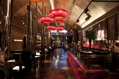 Sakura, Manchester by Julian Taylor Design Associates. Expanding the brand to establish a sushi and sake bar dictated the spatial arrangement for the site on the ground floor while allowing the lower ground floor to become an exclusive VIP and dance area. #jtda #interiors #interiordesign #design #sakura #sakuramanchester #manchester #bar #bardesign #barmanchester #manchesterbar #sakurabar