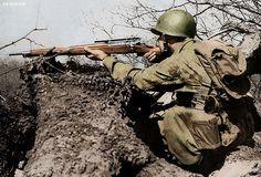 U.S. Army sniper ww2 by Za Rodinu, via Flickr
