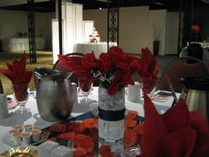 4th of July / Military Wedding Centerpieces
