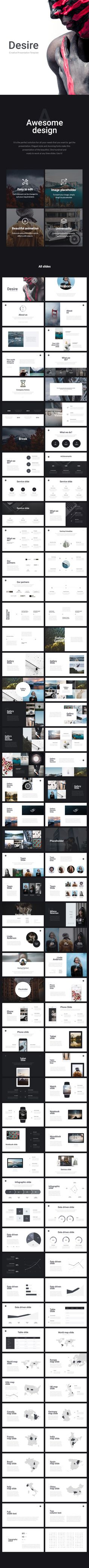 Desire PowerPoint Presentation Template