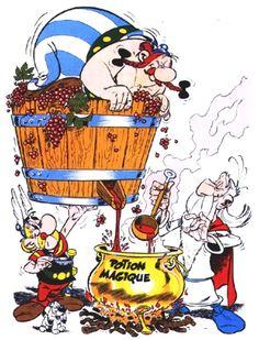 le vin, la potion magique des europiens!!!