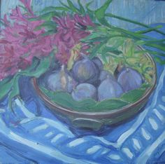 Kay Gallwey Cool Color Palette, Mixed Media, Paintings, Artists, Paint, Painting Art, Painting, Painted Canvas, Drawings