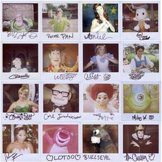 SO COOL! Take your polaroid to Disneyland and have all the characters sign their name.