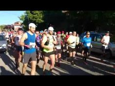 Maratón Alpino Madrileño 2014: Salida de todo el pelotón (Documento en bruto)
