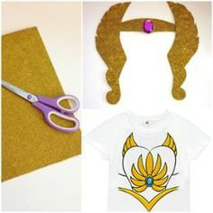 DIY She-Ra Crown this is the link to the template for a crown. Pic is by and my interpretation of the template. Easy Diy Costumes, Last Minute Halloween Costumes, Baby Costumes, Halloween Kids, Halloween Crafts, Halloween 2018, Costume Ideas, She Ra Costume, Superhero Birthday Party
