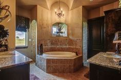 And the shower is behind the bathtub wall!  Very cool!  Find this home on Realtor.com