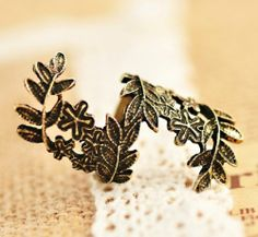 European Style Hollow Out Flower Antique Finger Ring