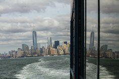 Dans le ferry pour Staten Island