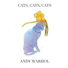 Cats, Cats, Cats by Andy Warhol Hardcover) for sale online Andy Warhol, Cat Lover Gifts, Cat Lovers, Art Story, Gifts For An Artist, National Gallery Of Art, Buy A Cat, Little Books, Cat Lady