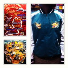 Polo by Ralph Lauren Khumbu Satin Reversible Tour Jacket is now available at Atrium #Dope