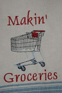Makin' Groceries ~ New Orleans saying ~ It means you are going to the store and buy food.
