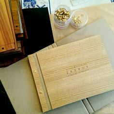 Working with bespoke Tasmanian timbers I create unique wedding guest books.  Each book is hand finished including acid free white paper and a