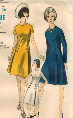 1960s Vogue 6625 Vintage Sewing Pattern Misses by midvalecottage, $12.00