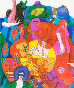 Tom Wolfe 'Electric Kool-aid Acid Test' Cover Art by Milton Glaser Farrar, Straus and Giroux. Kool Aid, Books To Read, My Books, Ken Kesey, Kurt Vonnegut, Margaret Atwood, Reading Challenge, Bukowski, Psychedelic Art