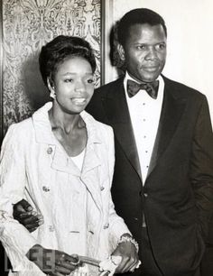 Sydney and his first wife....my dude! I have recently discovered his movies and I love them!