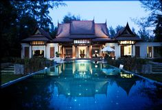Top 10 World's Spa Centers! Banyan Tree, Cherngtalay, Thailand. This SPA center is famous for its yoga and meditation classes. Indeed, where else can you isolate yourself from the outer world? Banyan Tree is incredibly popular! Golden sunsets there are simply beautiful!  Read more: http://chirkup.me/top-10-worlds-spa-centers.html?utm_source=Pinterest&utm_medium=ChirkupBoard&utm_campaign=CB256 #spa #yoga #meditation #thailand #health #chirkupme