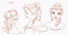 Beauty and the Beast ✤ || CHARACTER DESIGN REFERENCES | キャラクターデザイン • Find more…
