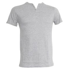 Brave Soul #Mens V Neck Casual Wear Short Sleeve #T-Shirt with Button Detail