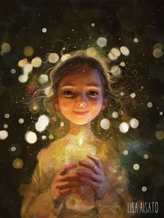 I live this talented Norwegian artist ! Wishing you all a simple, beautiful, calm and nourishing Christmas! Don't overdo it, just breath and be happy! Art And Illustration, Watercolor Illustration, Fantasy Kunst, Fantasy Art, Montage Photo, Mellow Yellow, Belle Photo, Painting Inspiration, Art Sketches