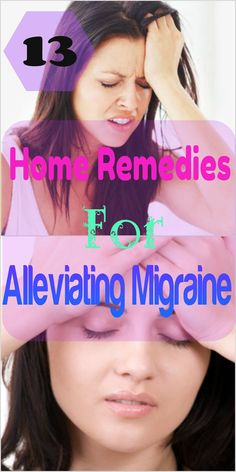 13 Home Remedies for Alleviating Migraine