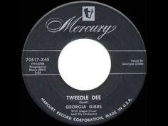▶ 1955 HITS ARCHIVE: Tweedlee Dee - Georgia Gibbs - YouTube