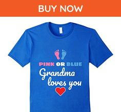Mens Grandma t-shirt, For Gender Reveal party and Baby Shower 3XL Royal Blue - Relatives and family shirts (*Amazon Partner-Link)