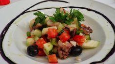 dicas e truques na cozinha : Receita de salada de polvo á Algarvia