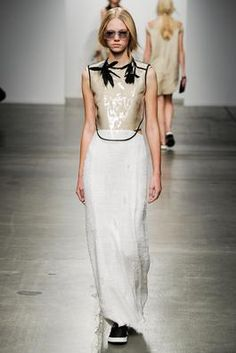 Osklen Spring 2015 Ready-to-Wear Fashion Show: Complete Collection - Style.com  Look 8